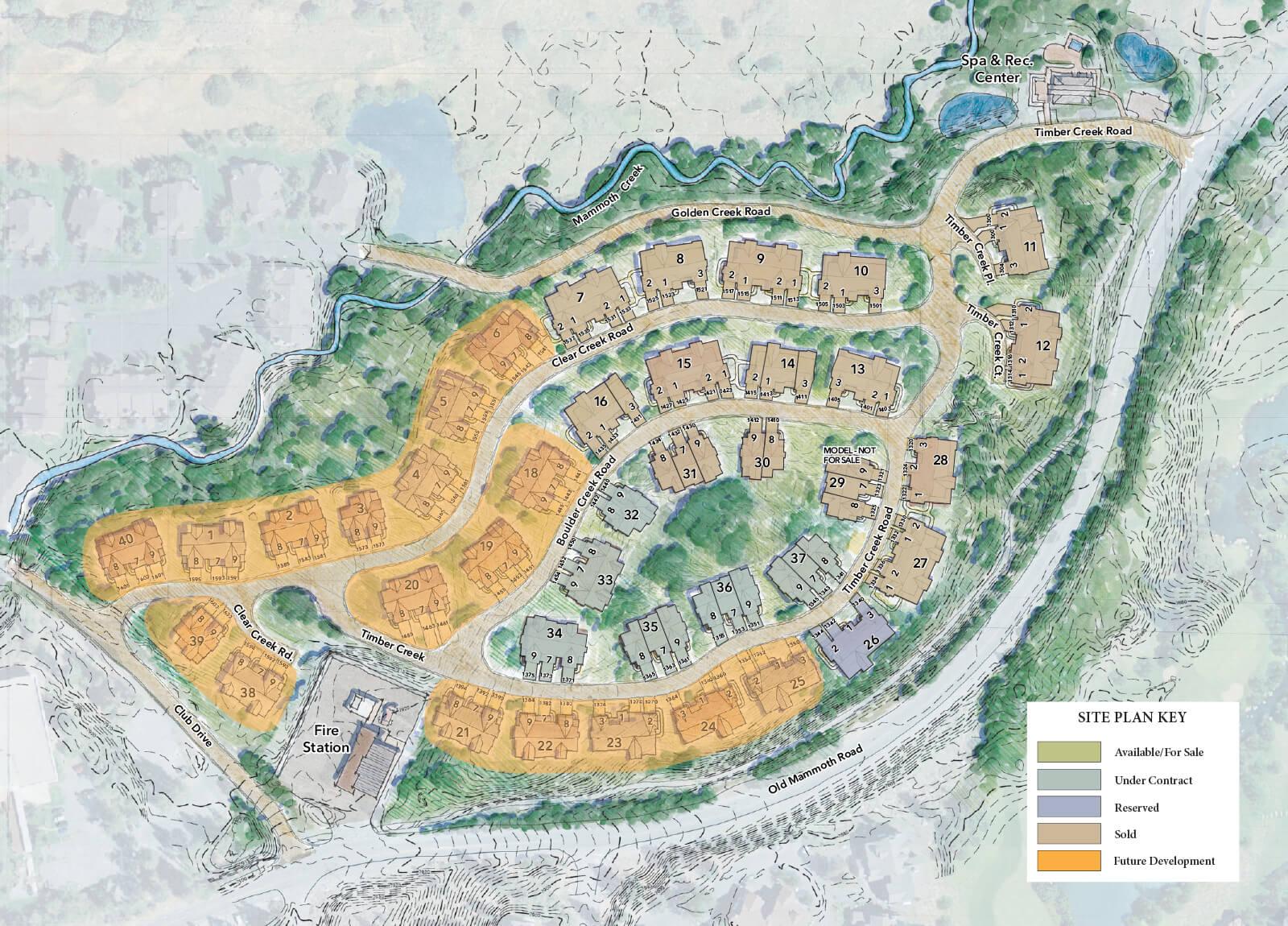 Creekhouse Site Map